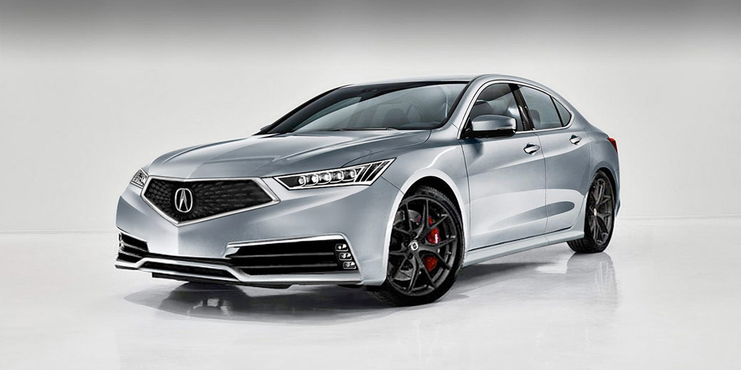 2018 Acura TLX Render