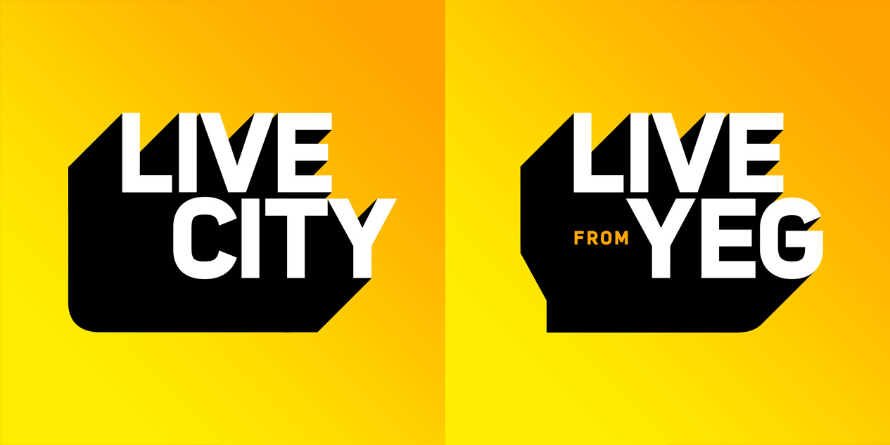 LIVE CITY, LIVE from YEG logo
