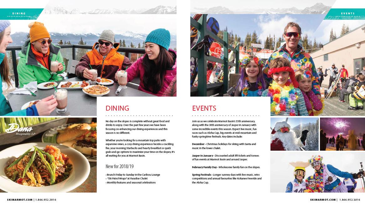 Marmot Basin Brochure 2018/19