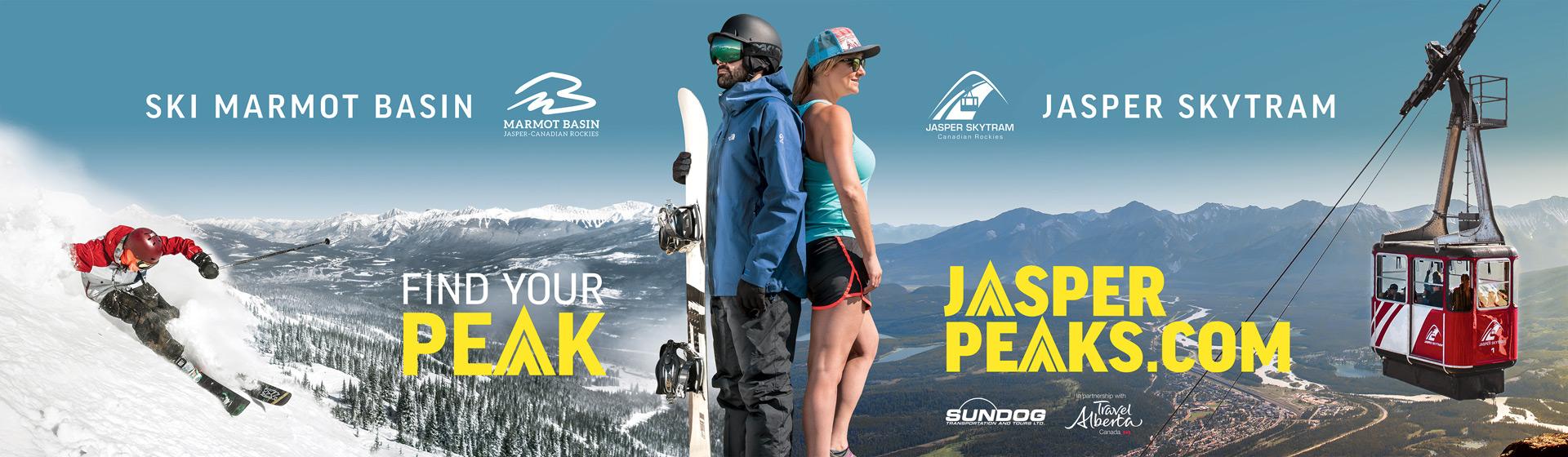 Jasper Peaks Billboard